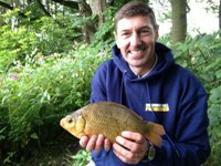 Graham, Tench and Crucian float fishing day