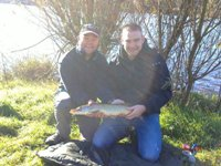 Ross's first pike - Pike fishing tuition session